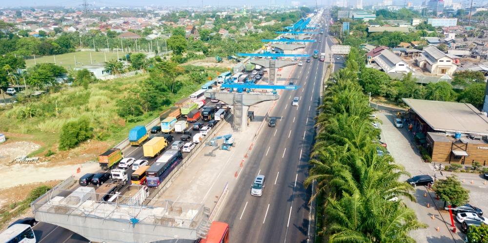 渋滞ポイントは工事の進捗に伴い東へ少しずつ移動していきます