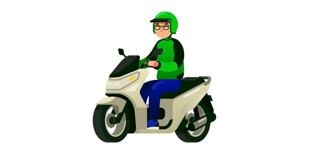 インドネシアのGO-JEKドライバーの運賃とボーナス制度