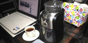 KRUPSのコーヒーグラインダー