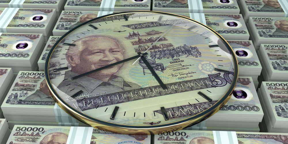 インドネシアのスハルト第2代大統領が印刷された5万ルピア札