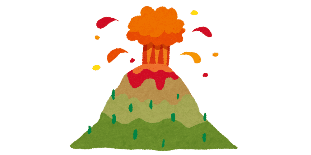 中部ジャワのボロブドゥール遺跡に近いムラピ火山