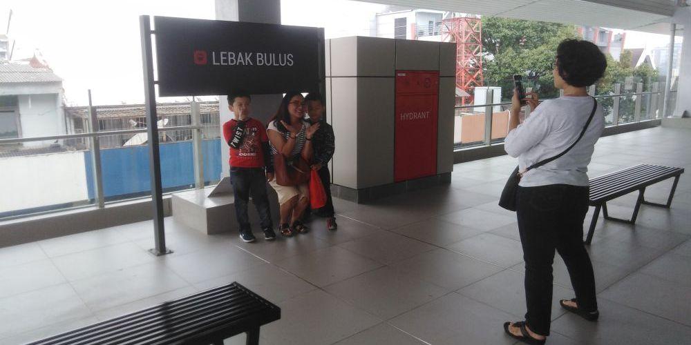 LEBAK BULUS駅