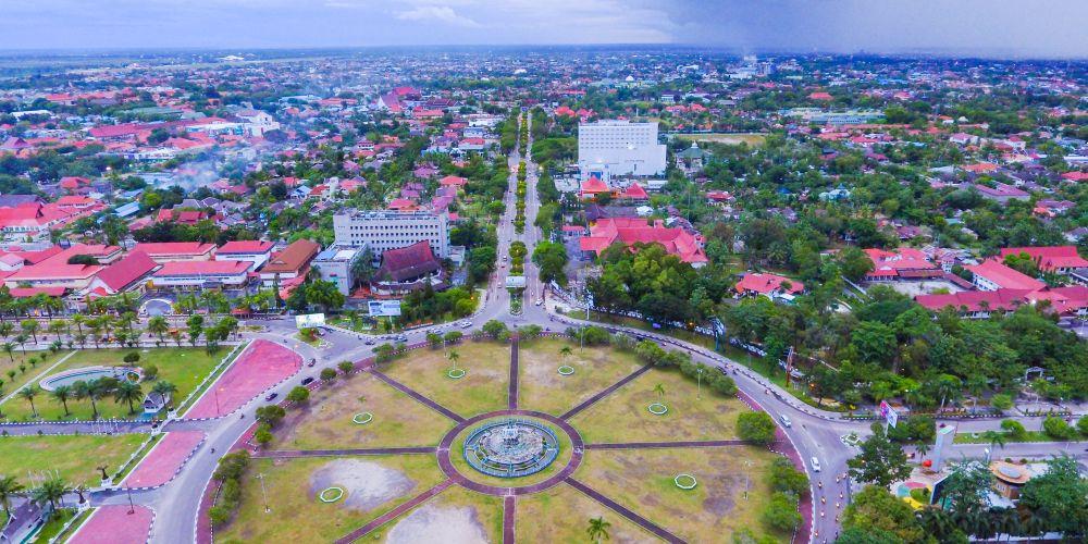大インドネシアを象徴するBundaran Besar