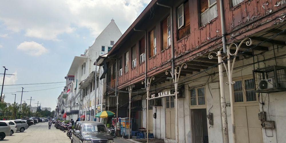 PT SKAHA所有の建物。