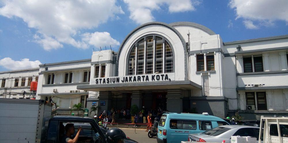 コタ駅(Stasiun Jakarta Kota)