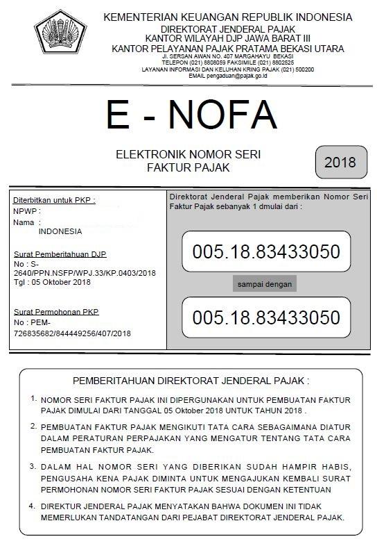 E-NOFA