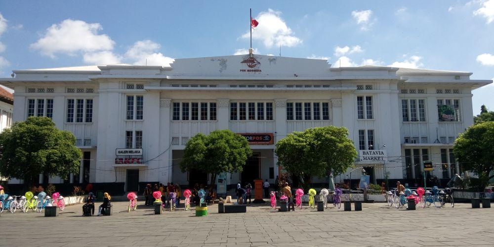 ファタヒラ広場郵便局(Kantor Pos Jakarta Taman Fatahillah)