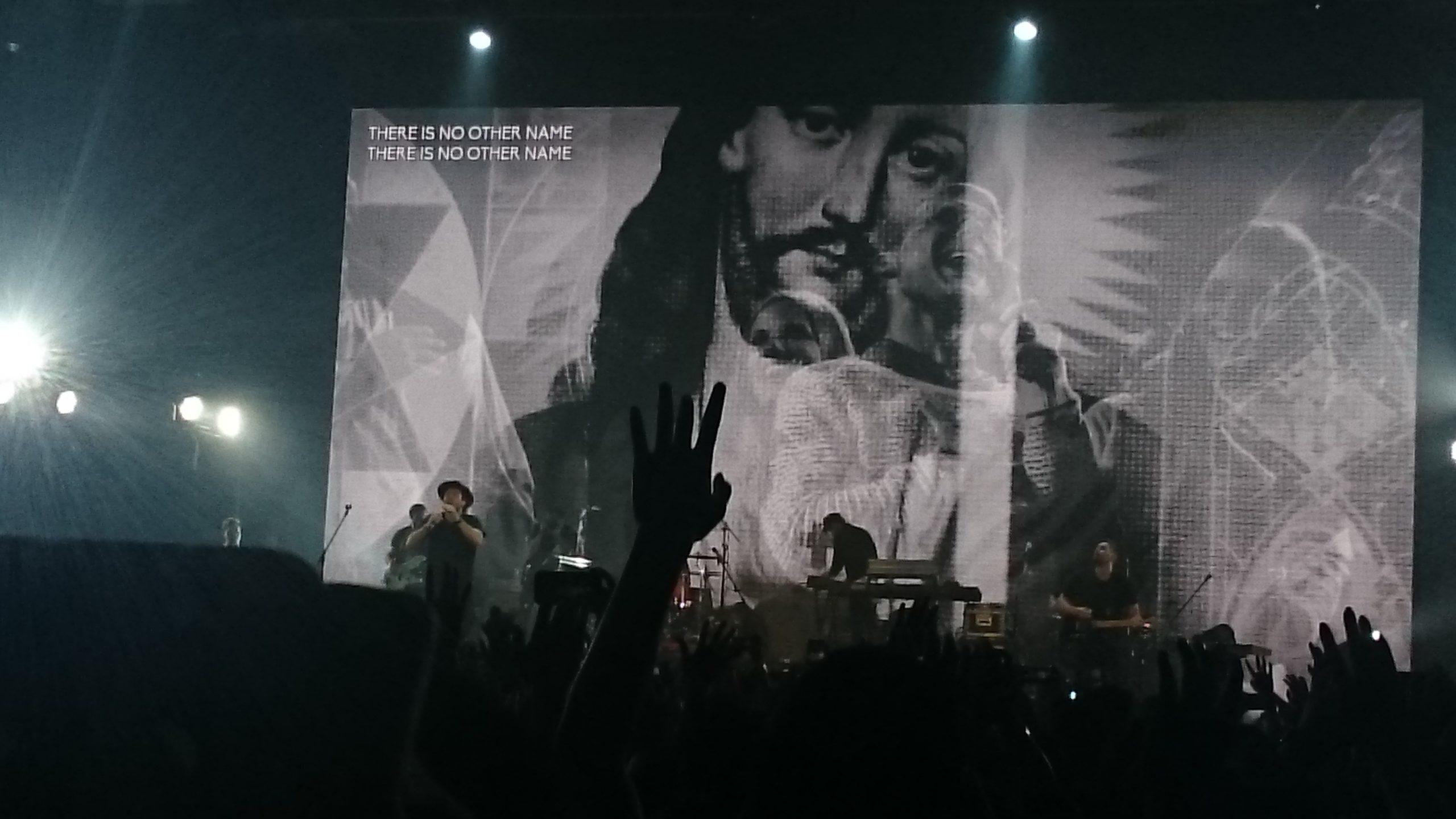 クリスチャン賛美歌バンドならではの演出