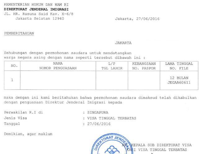 Telexのコピー取得&出国